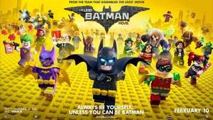 The LEGO Batman Movie HD to Rent for £1.99 @ Amazon Prime