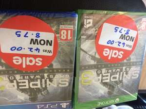 Sniper ghost warrior 3 season pass edition - £8.75 instore @ Asda Team Valley