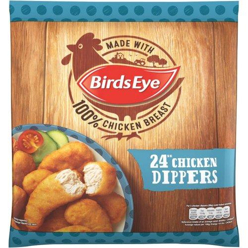 Birds Eye Crispy Chicken Dippers (24 per pack - 440g) was £3.00 now £1.50 (6.25p a dipper) @ Tesco
