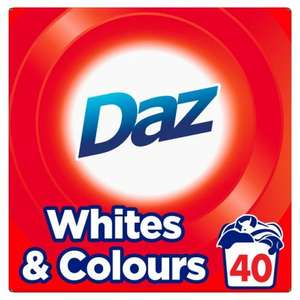 Daz 40 wash washing powder only £2.50 at Ocado usually £5.00