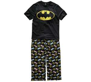 Men's Batman pyjamas sizes small - extra large now £7.99 and Ladies pink fleece hooded dressing gown now £6.99 @ Argos