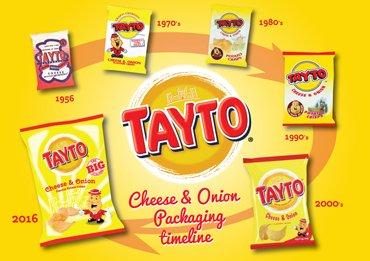Tayto Cheese & Onion Flavour Potato Crisps 12 x 25g (300g) was £2.00 now £1.50 @ Iceland