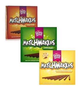 Nestle Quality Street Matchmakers - Cool Mint / Yummy Honeycomb / Zingy Orange (130g) was £2.00 now £1.00 @ Tesco