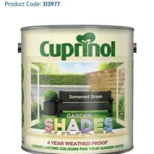 Cuprinol Wood Paint £1 @ B&M