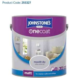 Johnstones One Coat Matt Paint £1 @ B&M