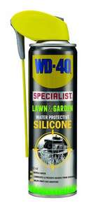 WD-40 Lawn & Garden Water Protective Silicone 250ML ONLY £2.50 (with voucher) prime / £6.49 non prime @ amazon
