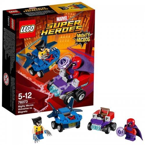 LEGO Mighty Micros 76071 - Spiderman vs Scorpion - 76073 - Wolverine vs Magneto - £4.50 each prime / £8.49 non prime @ Amazon