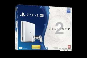Sony PS4 Pro Glacier White 1TB Destiny 2+ Expansion Bundle £399 @ GAME PRE-ORDER