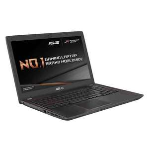 ASUS ROG Strix ZX553VD-DM640T 15.6 inch FHD Gaming Laptop with Gaming Backpack and Mouse and Amazon for £749.99