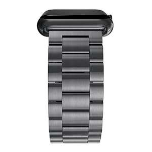 Apple Watch 42mm Steel Strap - £15.89 Prime - £19.88 non prime @ Sold by Simpeak.U Store and Fulfilled by Amazon