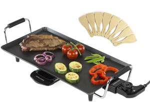 Large 2000W Electric Teppanyaki Table Top Grill With 8 Spatulas £17.28 delivered w/code @ Groupon