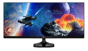 "LG 25UM58 25"" Ultrawide IPS Gaming Monitor - £129.99 - eBuyer"