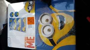 Despicable Me - Minions Bedlinen set - Single @ LIDL (Walsall) £2.80
