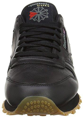 Reebok Classic Leather, black/gum in size 9.5 UK. £16.30 Prime/ £21.05 non prime  @ Amazon