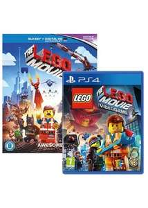 The Lego Movie Videogame - Blu-Ray Giftpack Edition + Vitruvious Minifigure (PS4) £14.85 Delivered @ Base