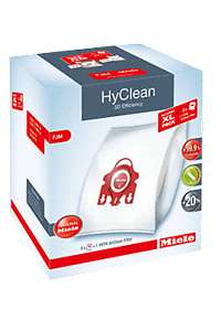 Miele online shop - Pack of 8 Hyclean dustbags plus 1 HA50 Hepa filter £20.99 including delivery