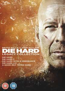 Die Hard: 1-5 Legacy Collection DVDs £5.49 Used @ Music Magpie