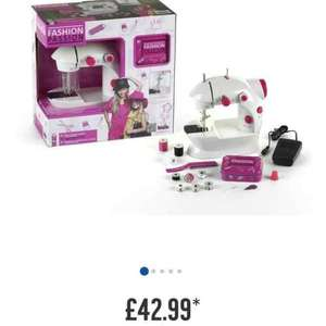 fashion passion girls sewing machine £6.50 Tesco St. Helens in store