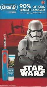 Tesco instore Oral-B Star Wars Stages Electric Toothbrush + Toothpaste Gift Star Wars and Frozen £8.75