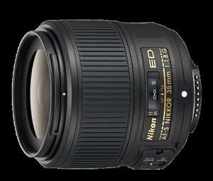 Nikon AF-S NIKKOR f/1.8G ED Lens - 35 mm £179.99 @ Amazon