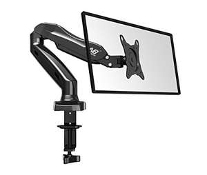 Height adjustable (gas spring assisted) monitor mount £36 Sold by Kaiss-Vertrieb and Fulfilled by Amazon