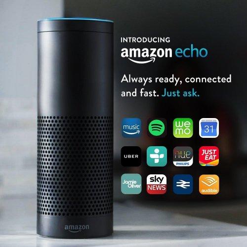Certified Refurbished Amazon Echo, Black - £99 @ Amazon