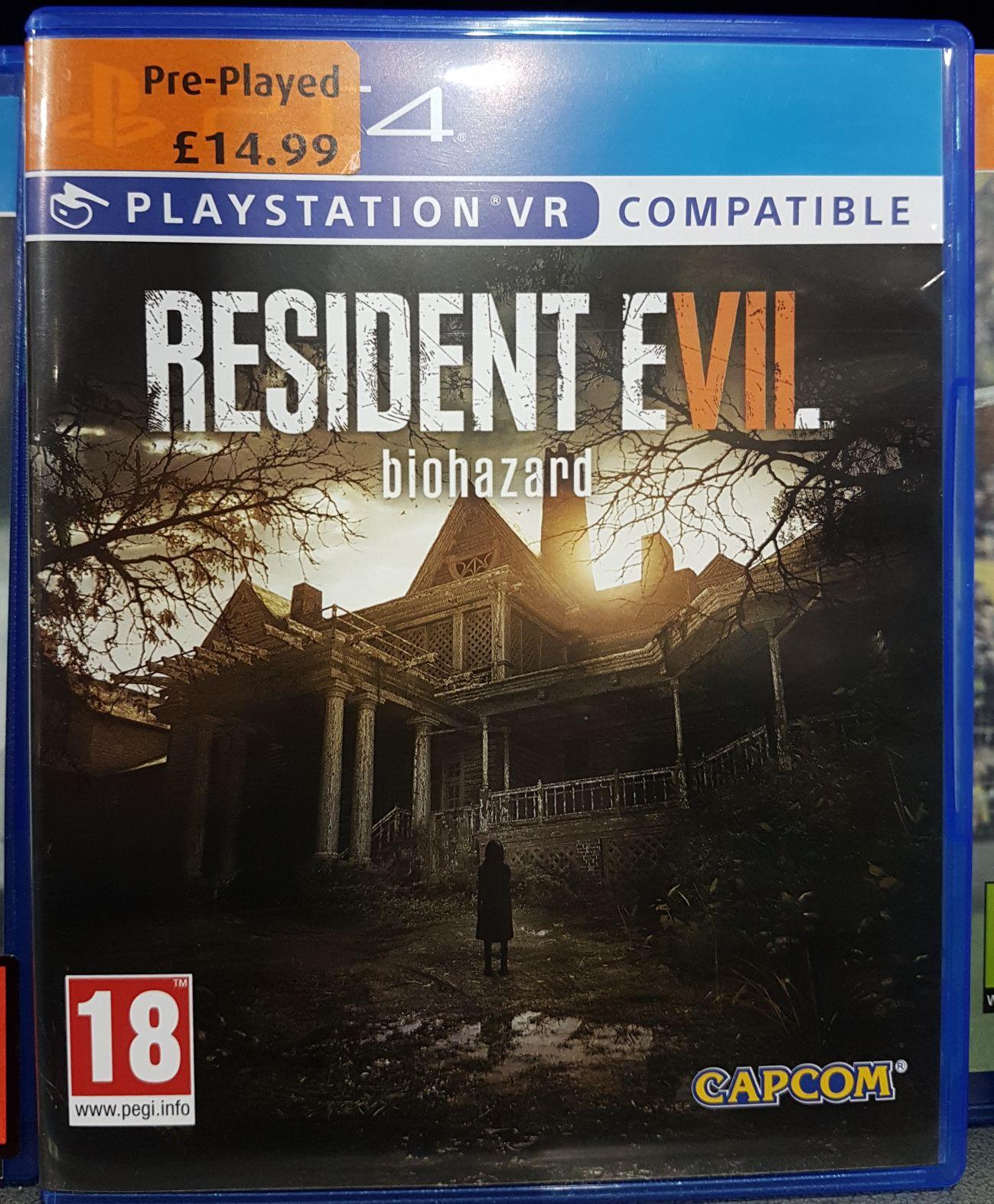 [Used] Resident Evil 7 PS4 £14.99 Instore @ Smyths