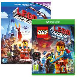 Lego movie gift pack, bluray and game Xbox One £14.99  at game