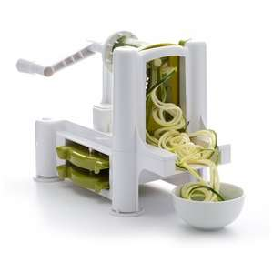 Dexam Spiralizer System with Three Vegetable Blades £9 / £12.95 delivered