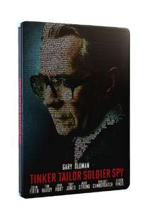 Tinker Tailor Soldier Spy Blu-Ray Steelbook £4.13 prime / £6.12 non prime Sold by MediaMerchants and Fulfilled by Amazon