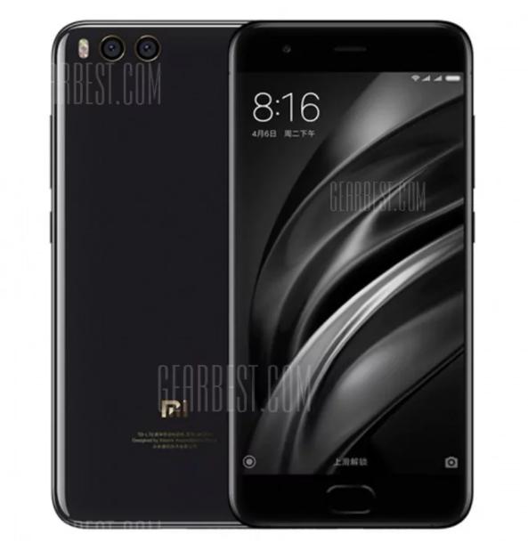 Xiaomi Mi 6 4G Smartphone 6GB RAM 128GB ROM Dual 12MP Rear Cameras £358.85 Delivered w/code @ Gearbest