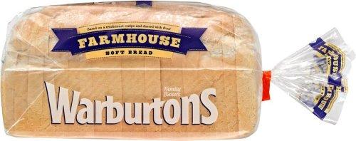 Warburtons Sliced Soft Farmhouse White Bread (800g) was £1.25 now 93p @ Waitrose