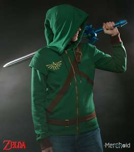 Legend of Zelda Link Cosplay Hoodie. Half price! £19.99 @ GAME INSTORE