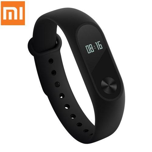 Original Xiaomi Mi Band 2 OLED Display Heart Rate Monitor Bluetooth Smart Wristband Bracelet £14.84 @ Banggood