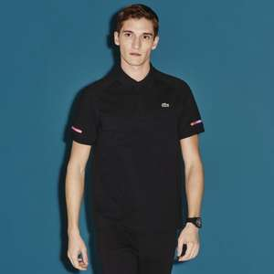 Lacoste Sport Sleeve Accent Lightweight Knit Polo Shirt - Medium - £37.50 @ Lacoste