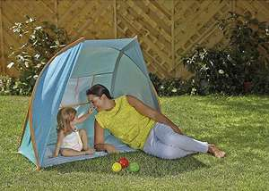 UPF 50+ Pop Up Beach Sun Tent Now £15 / Beach Shelter now £10 at Tesco Direct