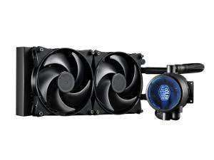 Cooler Master Masterliquid Pro 280 All-in-One Liquid CPU Cooler - LGA2066 Support £77.99 @ Novatech