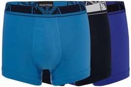 Emporio Armani Pack of 3 Stretch Trunks (Purple) - £19 @ Debenhams (+£3.49 del)
