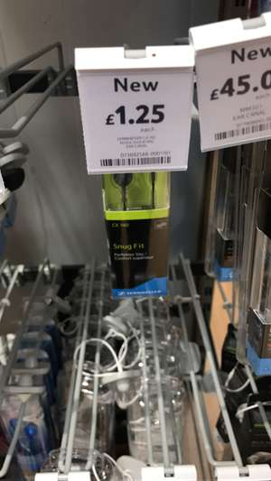 Sennheiser CX160 £1.25 instore @ Tesco (Trowbridge)