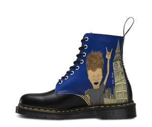 Beavis & Butt-Head Pascal Dr. Martins boots from £50 (were £125) delivered @ Dr Martens