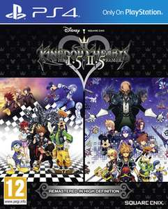 Kingdom Hearts HD 1.5 and 2.5 Remix (PS4) £22.99 Delivered @ GAME/Amazon