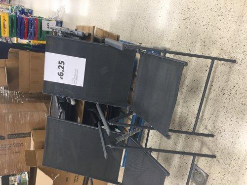 Tesco Seville reclining chair £6.25 (found Glasgow Silverburn)