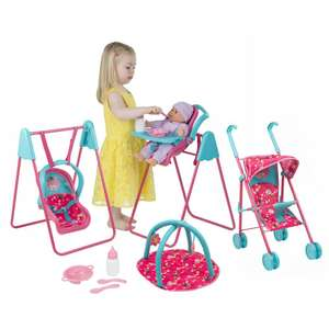 Doc Mcstuffins stroller, swing, highchair set at Precious Little One for £19.99 + £3.95 delivery (£23.94 delivered) @ PreciousLittleOne