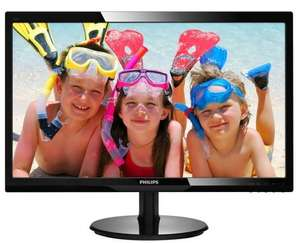 "Philips 246V5LDSB 24"" Full HD HDMI Monitor - £84.98 @ Ebuyer"