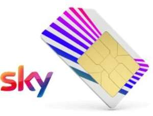 Unlimited calls and texts + 500mb data £5pm Sky mobile (O2) £5 p/m - £60 (sky customers - via phone call)
