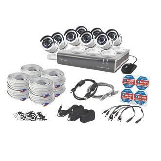Swann SWDVK-845508-UK 8-Channel CCTV & DVR Kits & 8 Cameras - £499.99 @ Screwfix
