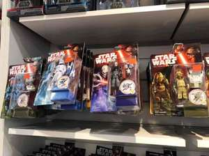 Star Wars The Force Awakens Figured reduced to clear in-store @ Disney Store Glasgow from £1.00