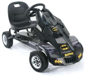 Batman Batmobile Go Kart was £173.98 now £103.98 Del @ Very (+ more in OP)