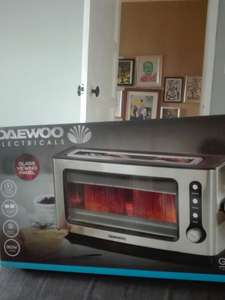 Daewoo see through glass toaster £14.99 @ B&M instore
