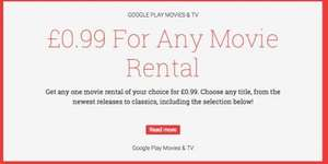Latest Movie Rental for 99p on Google Play Movies